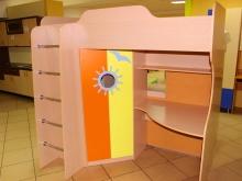 мебель в детскую комнату двух- ярусная