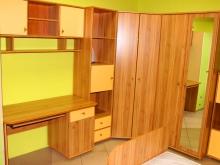 большой набор разной корпусной мебели для детской комнаты