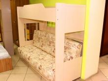 детская кровать 2-х ярусная с диваном