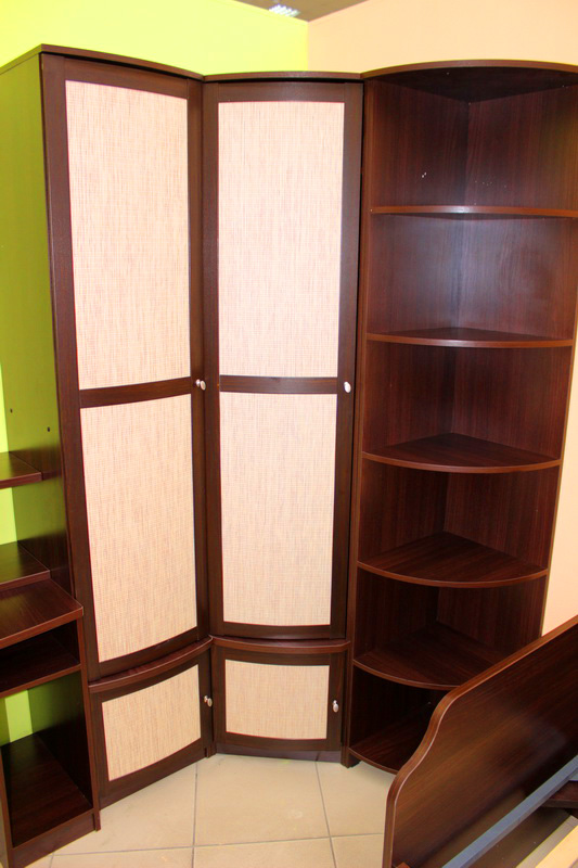 шкаф для одежды + угловой стеллаж