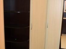 шкафы для одежды секционные с полками угловые