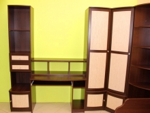 компьютерные столы, стеллажи и полки