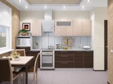 Доступная модульная кухня