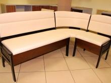стильные угловые скамьи для кухни на заказ и в наличии