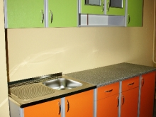 Яркие кухни стиль модерн
