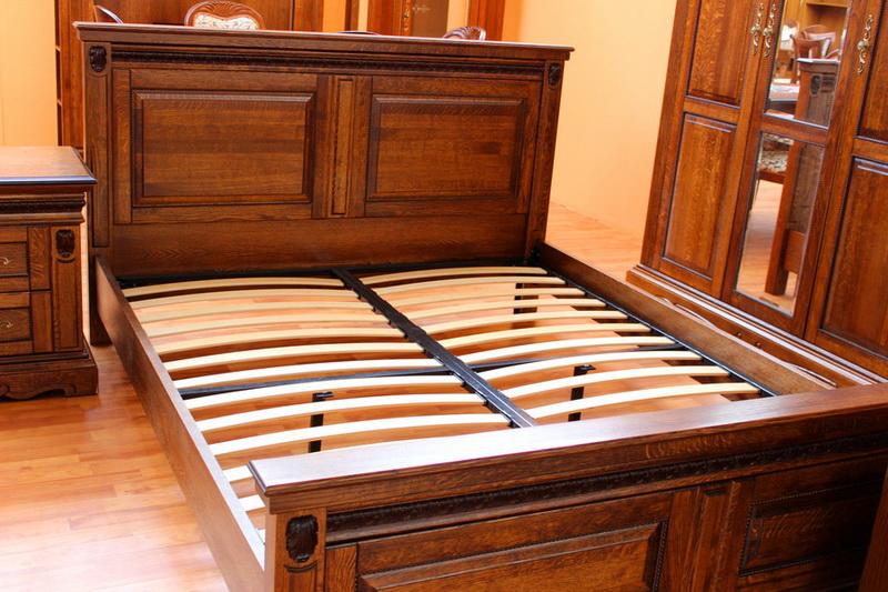 """кровать из массива дерева \""""Милана\"""" без матраса"""