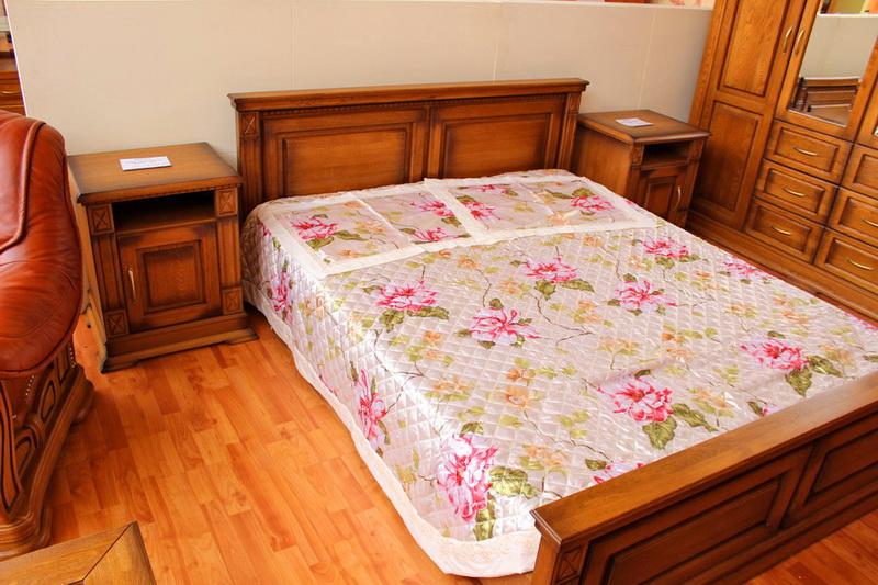 мебель для спальни из массива дуба в Кургане