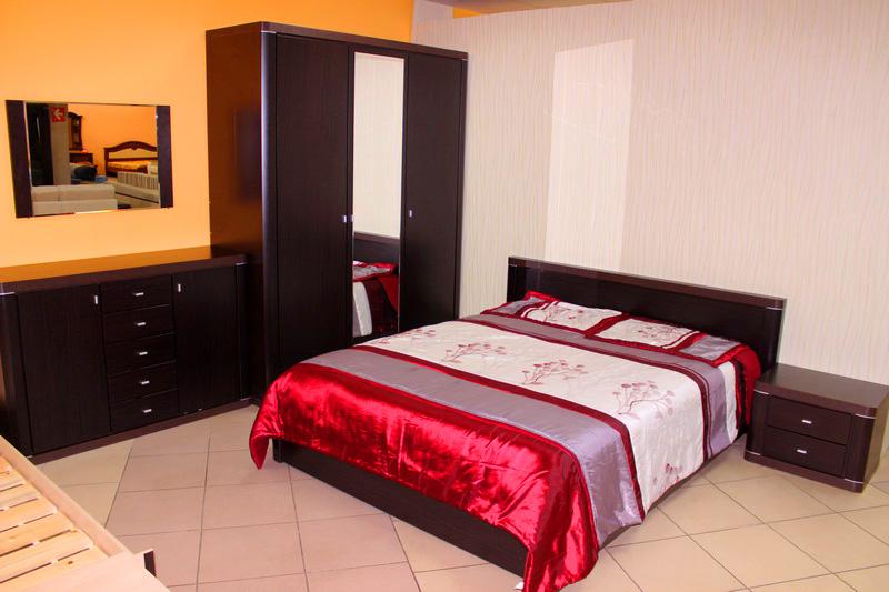 мебель для спальни, цвет венге