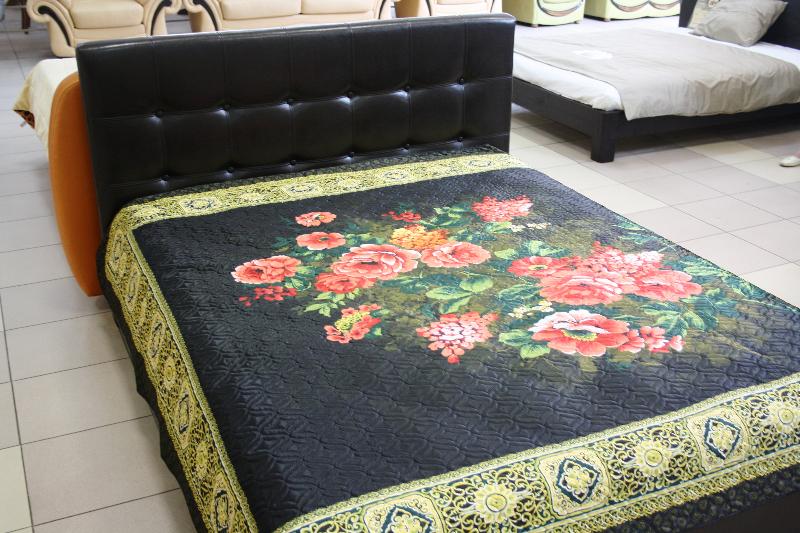 Красивые кровати с мягким изголовьем
