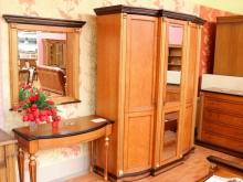 """спальня из массива карельской березы \""""Венеция\"""" пр-во \""""Пинскдрев\"""" Белоруссия"""