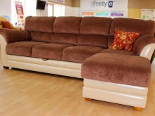 диван с канапе (оттоманкой)