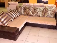 диван со съёмными подспинными подушками