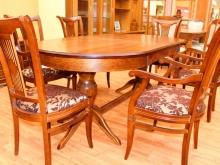 большие деревянные обеденные столы купить