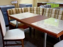 Стол на кухню, разные варианты столешниц